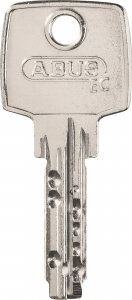 DN sleutel + sleutelnummer in de sleutel gegraveerd
