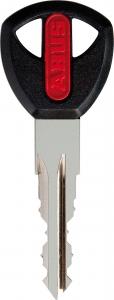 NW72 sleutel + sleutelnummer in de sleutel gegraveerd