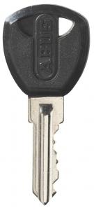 PROTECTA sleutel + sleutelnummer in de sleutel gegraveerd