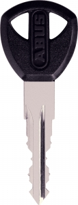 U73 sleutel met sleutelnummer op de sleutel